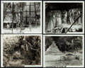"""Movie Posters:Adventure, Tarzan the Ape Man (MGM, 1932). Overall: Very Fine. Set Continuity Photos (8) (8"""" X 10""""). Adventure.. ... (Total: 8 Items)"""