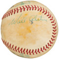Autographs:Baseballs, Greats Multi-Signed Baseball with Alston, Anderson, Reese,Richards, . ...