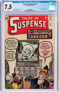 Silver Age (1956-1969):Mystery, Tales of Suspense #35 (Marvel, 1962) CGC VF- 7.5 Off-whitepages....