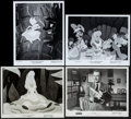 """Movie Posters:Animation, Alice in Wonderland & Other Lot (RKO & Buena Vista,1951/R-1974). Photos (4) (8"""" X 10""""). Animation.. ... (Total: 4Items)"""