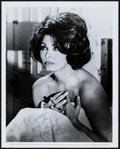 "Movie Posters:Thriller, Sophia Loren in Arabesque (Universal, 1966). Autographed Photo (8"" X 10""). Thriller.. ..."