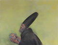 Post-War & Contemporary, Rafael Coronel (b. 1932). Untitled (Man holding head). Oilon canvas. 48 x 61 inches (121.9 x 154.9 cm). Signed lower ri...
