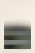 Other, Larry Bell (b. 1939). MS 29, 1978. Vaporized metal on Arches paper. 71 x 46-1/2 inches (180.3 x 118.1 cm) (sheet). Signe...