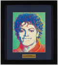 Miscellaneous Collectibles:General, 1984 Michael Jackson Andy Warhol Print.. ...