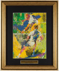 "Olympic Collectibles:Autographs, LeRoy Neiman ""United States Open Tennis"" Framed Print.. ..."