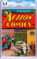 Action Comics #32 (DC, 1941) CGC FN- 5.5 Off-white pages