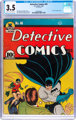 Detective Comics #46 (DC, 1940) CGC VG- 3.5 Cream to off-white pages