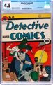 Detective Comics #49 (DC, 1941) CGC VG+ 4.5 Light tan to off-white pages