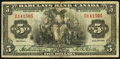 Canadian Currency, Montreal, PQ- Barclays Bank (Canada) $5 Jan. 2, 1935 Ch. # 30-12-02. ...