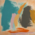 Paintings, Friedel Dzubas (1915-1994). Desert Heart, 1976. Acrylic on canvas. 72 x 72 inches (182.9 x 182.9 cm). Signed, titled, da...