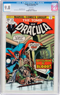 Bronze Age (1970-1979):Horror, Tomb of Dracula #32 (Marvel, 1975) CGC NM/MT 9.8 White pages....