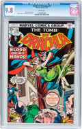 Bronze Age (1970-1979):Horror, Tomb of Dracula #33 (Marvel, 1975) CGC NM/MT 9.8 White pages....