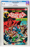 Bronze Age (1970-1979):Horror, Tomb of Dracula #35 (Marvel, 1975) CGC NM/MT 9.8 Off-whitepages....