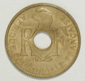 French Equatorial Africa, French Equatorial Africa: French Colonial 10 Centimes 1943,...