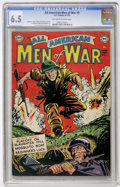 Golden Age (1938-1955):War, All-American Men of War #5 (DC, 1953) CGC FN+ 6.5 Off-white towhite pages....