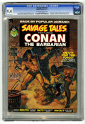 Magazines:Superhero, Savage Tales #2 Conan the Barbarian (Marvel, 1973) CGC NM 9.4Off-white to white pages....