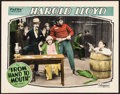 "Movie Posters:Comedy, From Hand to Mouth (Pathé, R-1920s). Lobby Card (11"" X 14""). Comedy.. ..."