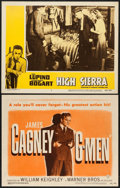 """Movie Posters:Crime, G-Men & Other Lot (Warner Brothers, R-1949). Lobby Cards (2) (11"""" X 14""""). Crime.. ... (Total: 2 Items)"""