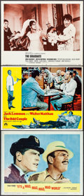 """Movie Posters:Comedy, The Graduate & Others Lot (Embassy, 1968). Lobby Cards (3) (11"""" X 14""""). Comedy.. ... (Total: 3 Items)"""