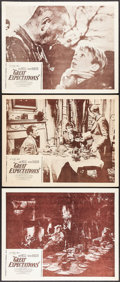 """Movie Posters:Drama, Great Expectations (Continental, R-1950s). Lobby Cards (3) (11"""" X 14""""). Drama.. ... (Total: 3 Items)"""
