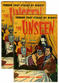 Golden Age (1938-1955):Horror, The Unseen #14 Group (Standard, 1954).... (Total: 2 Comic Books)