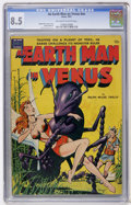 Golden Age (1938-1955):Science Fiction, An Earth Man on Venus #nn (Avon, 1951) CGC VF+ 8.5 Off-white towhite pages....