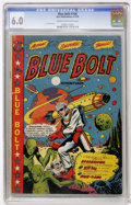 Golden Age (1938-1955):Science Fiction, Blue Bolt #106 (Star Publications, 1950) CGC FN 6.0 Cream tooff-white pages....