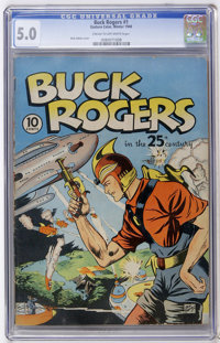 Buck Rogers #1 (Eastern Color, 1940) CGC VG/FN 5.0 Cream to off-white pages