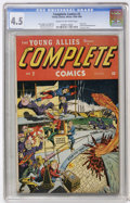 Golden Age (1938-1955):Superhero, Complete Comics #2 (Timely, 1945) CGC VG+ 4.5 Cream to off-white pages....