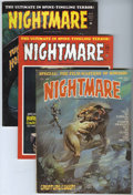 Bronze Age (1970-1979):Horror, Nightmare #5 and 7-9 Group (Skywald, 1971-72) Condition: AverageVF+.... (Total: 4 Comic Books)