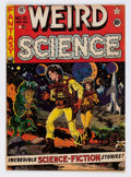 Golden Age (1938-1955):Science Fiction, Weird Science #10 (EC, 1951) Condition: VG/FN....