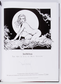 Brush With Passion: The Art of Dave Stevens Slipcase Limited Edition Hardcover with Slipcase (Underwood Books, 2008)