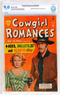 Golden Age (1938-1955):Romance, Cowgirl Romances #28 (#1) (Marvel, 1950) CBCS VF/NM 9.0 White pages....