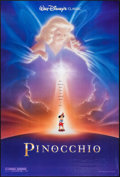 """Movie Posters:Animation, Pinocchio (Buena Vista, R-1992). One Sheets (2) (27"""" X 40"""") DS, John Alvin Artwork. Animation.. ... (Total: 2 Items)"""