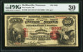 National Bank Notes:Tennessee, McMinnville, TN - $10 1875 Fr. 420 The Peoples NB Ch. # 2593. ...