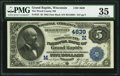 National Bank Notes:Wisconsin, Grand Rapids, WI - $5 1882 Date Back Fr. 533 The Wood County NB Ch. # (M)4639. ...