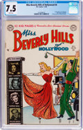 Golden Age (1938-1955):Romance, Miss Beverly Hills of Hollywood #6 (DC, 1950) CGC VF- 7.5 Whitepages....