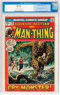Bronze Age (1970-1979):Horror, Fear #10 (Marvel, 1972) CGC VF+ 8.5 Cream to off-white pages....