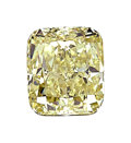 Estate Jewelry:Unmounted Diamonds, Unmounted Fancy Yellow-Green Diamond . ...