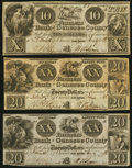 Obsoletes By State:Michigan, Flint Rapids, MI- Farmers Bank of Genesee County $10 Jan, 7, 1838; $20 Jan. 11, 1838 (2). ... (Total: 3 notes)