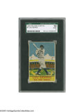 Baseball Cards:Singles (1930-1939), 1933 Delong Gum Co. Lou Gehrig #7 SGC Poor 10. A toughDepression-era issue featuring the bravest Yankee of all. Mostwear...