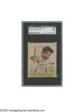 Baseball Cards:Singles (1930-1939), 1938 Goudey Heads-Up Joe Di Maggio #274 SGC Good 30. Comical earlycard is one of the Yankee Clipper's most essential issue...