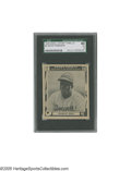 Baseball Cards:Singles (1940-1949), 1948 Swell Sport Thrills Jackie Robinson #3 SGC VG 40. A tough,rare issue with a great portrait of the man celebrating his...
