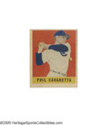Baseball Cards:Singles (1940-1949), 1949 Leaf Phil Cavaretta #168. A nice looking card despite wear at the corners and imperfect registration....