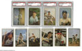 Baseball Cards:Lots, 1953 Bowman Color Near Complete Set of 148. This is a near completeset with 148 of 160 total cards. Whoever collected thi...