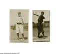 Baseball Cards:Lots, 1914 Fatima T-222 Lot of 2. Sweeney of the Chicago Nationals andVitt of Detroit are present in Fair to Good condition. Sw...