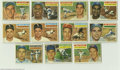 Baseball Cards:Lots, 1956 Topps Baseball Lot of 192. Lot consists of 192 cards (175unique) from the 1956 Topps baseball set. Card numbers rang...