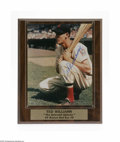 """Autographs:Photos, Ted Williams Signed Photograph. Fantastic glossy 8x10"""" photo of TheKid as a rookie is signed by the Hall of Fame legend in..."""