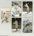 Autographs:Post Cards, Massive Signed Baseball Postcard Collection (1,100+). Tremendousassortment of postcards that mainly bear images from famed...