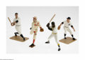 Baseball Collectibles:Others, 1990 Hartland Statues Lot of 4. Mint in box examples of Gehrig,Dean, Ford and Clemente. A great lot for dealers and colle... (4 )
